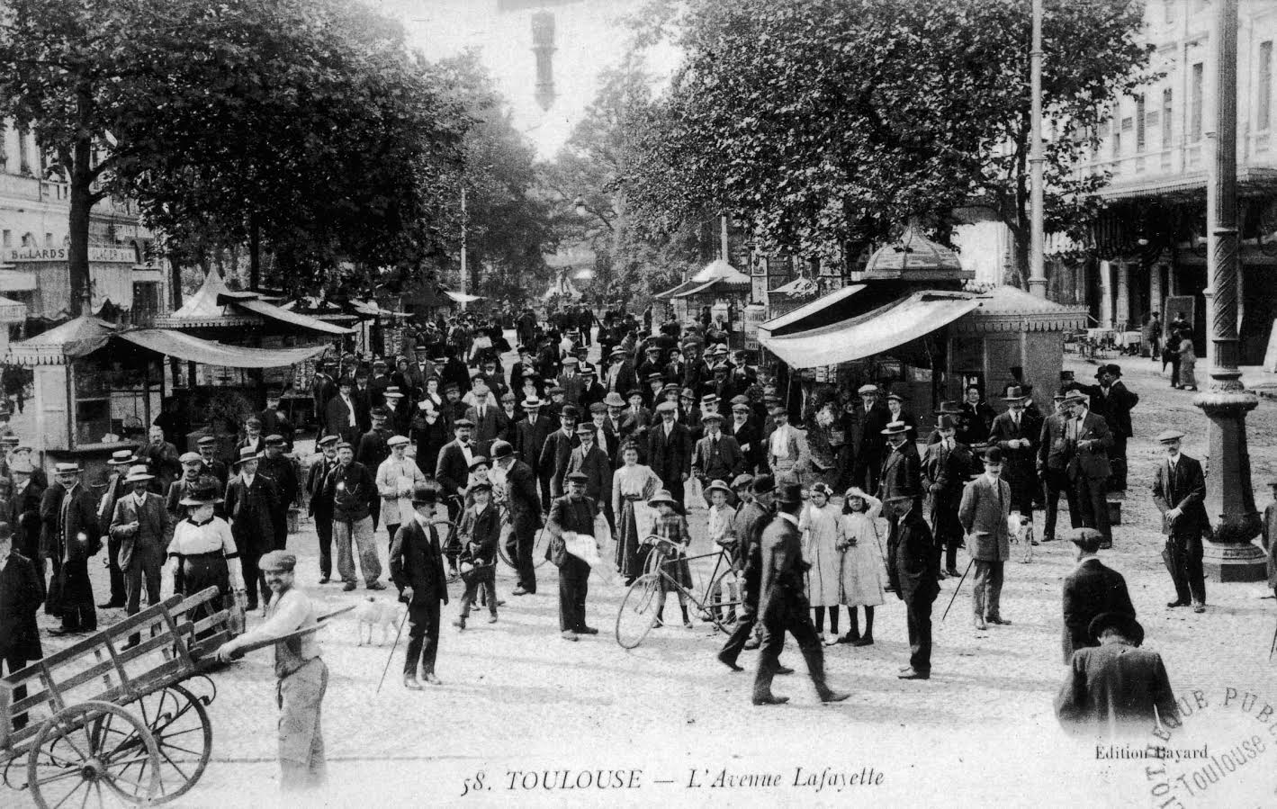 L'avenue Lafayette (Jaurès)