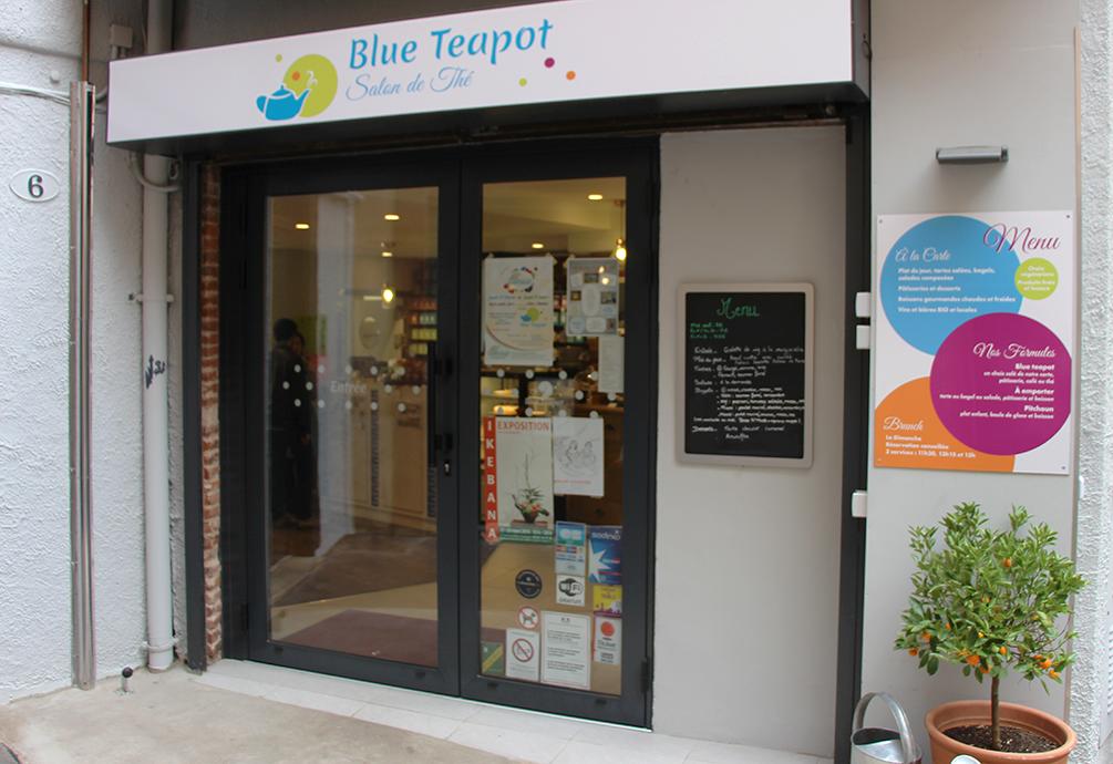 Blue Teapot - Devanture