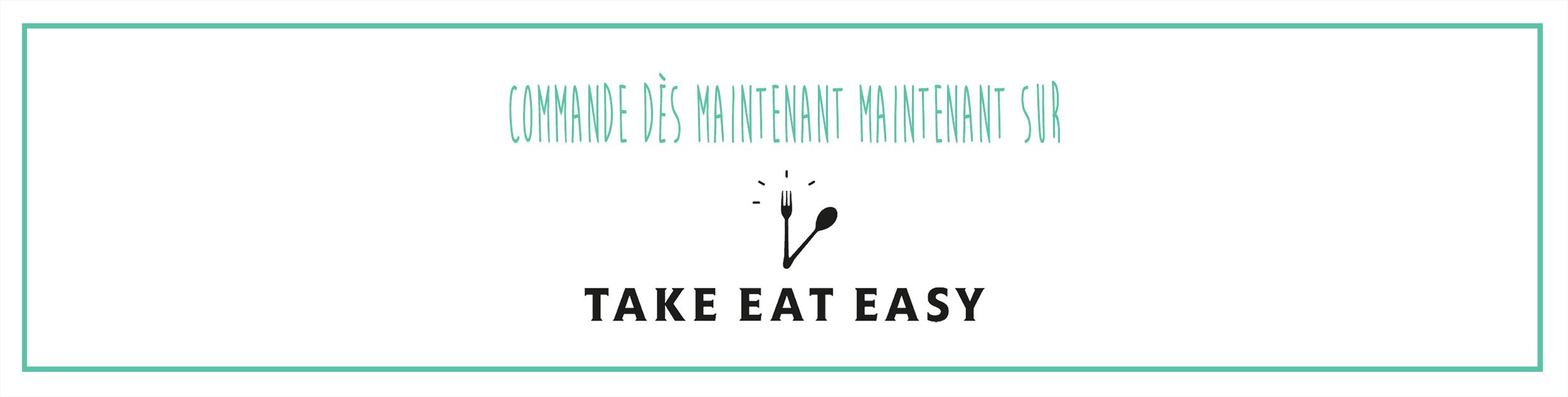 Bannière Take Eat Easy