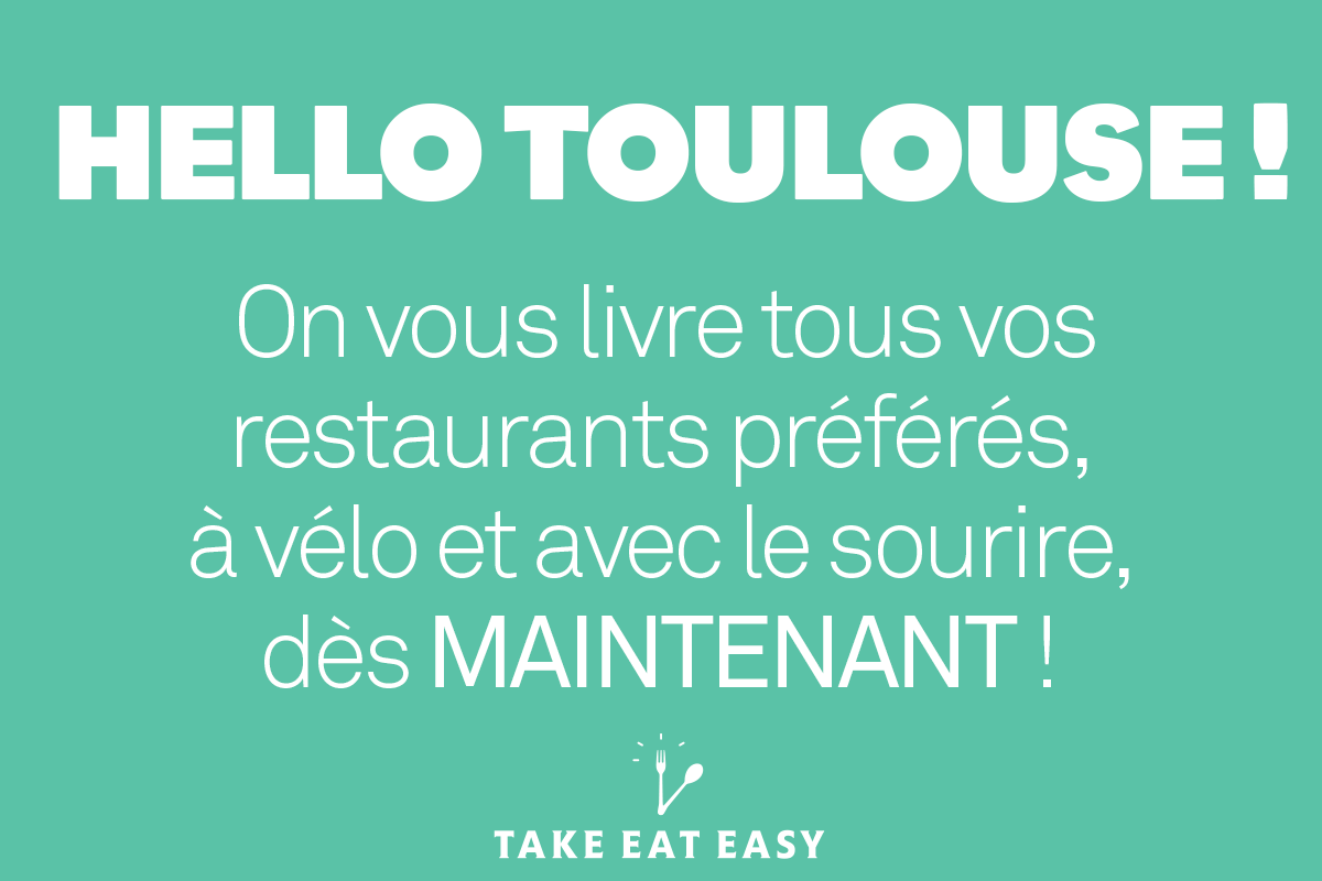 Take Eat Easy à Toulouse