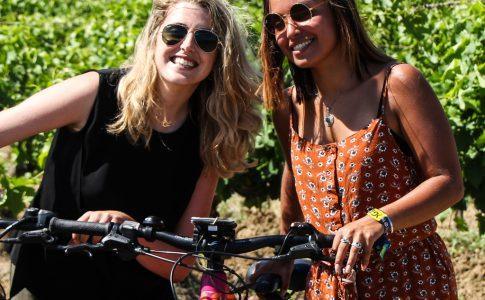 Du vélo électrique au coeur des vignes Occitanie